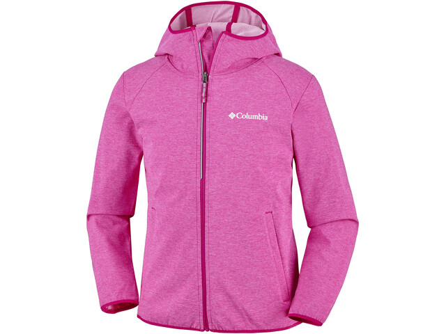 Columbia Heather Canyon Veste Softshell Enfant, haute pink heather